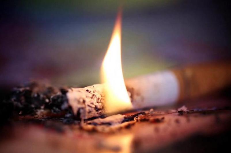 Сигарета стала причиной пожара и гибели мужчины в Петропавловске