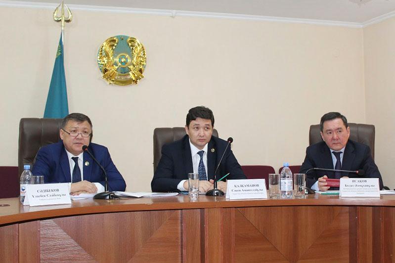 В Туркестанской области прошли совещания по предупреждению коррупции