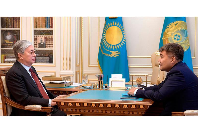 Глава государства дал послу Казахстана в Украине ряд поручений