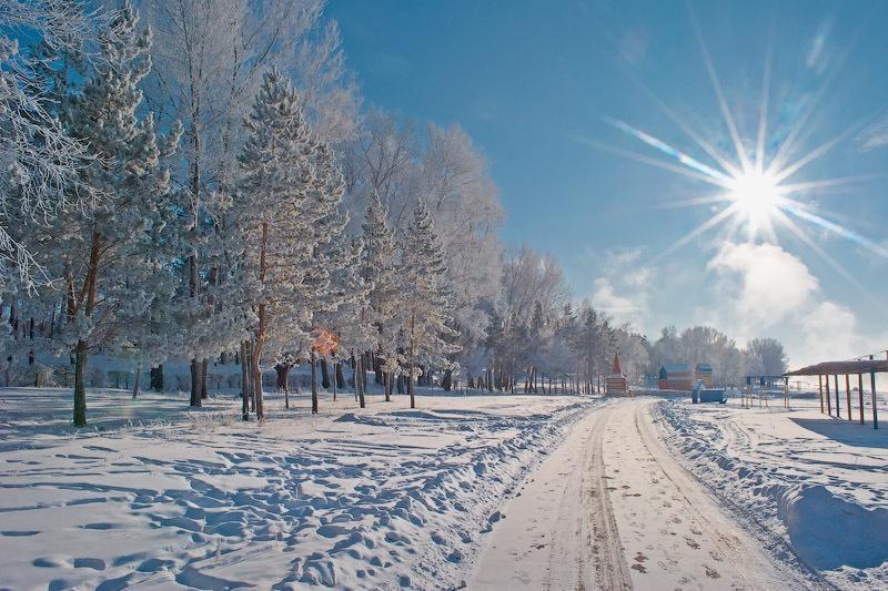 Погода без осадков ожидается 25 февраля на большей части территории Казахстана