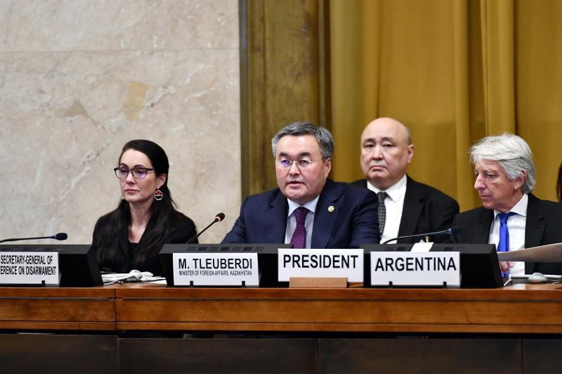 Казахстан принял участие в заседаниях Совета ООН по правам человека и Конференции по разоружению