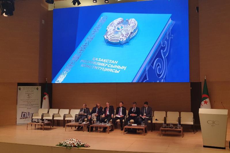 Қайрат Мәми Алжир Конституциялық кеңесінің төрағасымен кездесті