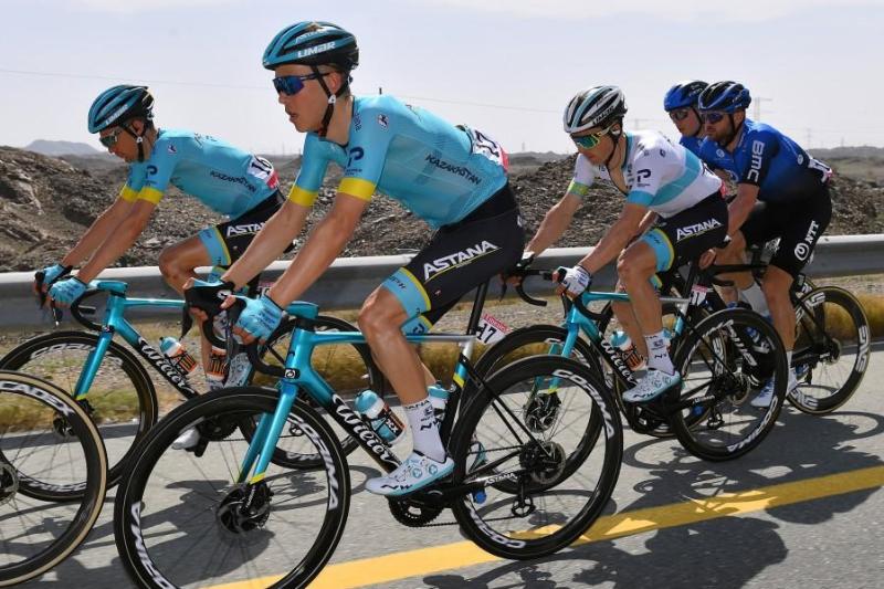 Astana's Lutsenko in top 5 of UAE Tour Stage 2