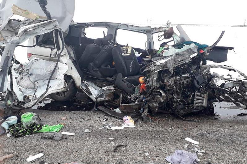Четверо граждан Таджикистана погибли в ДТП в Актюбинской области