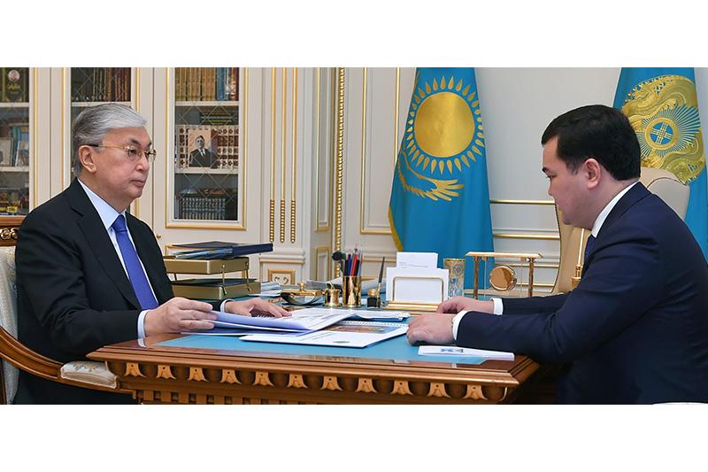 Женис Касымбек доложил Главе государства о перспективах туристического кластера  в Улытауском районе