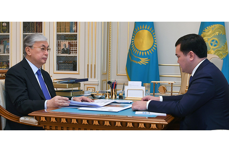 Karaganda rgn Governor reports on tourism cluster prospects