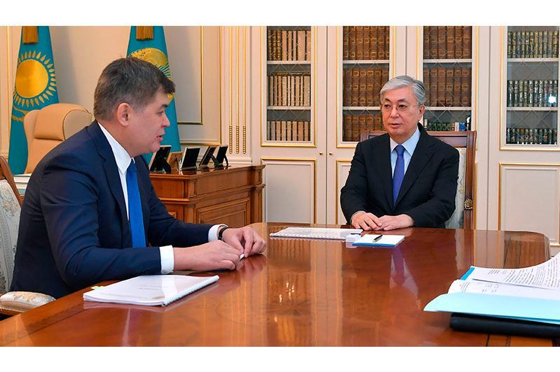 Президенту Казахстана доложили о мерах по недопущению распространения коронавируса