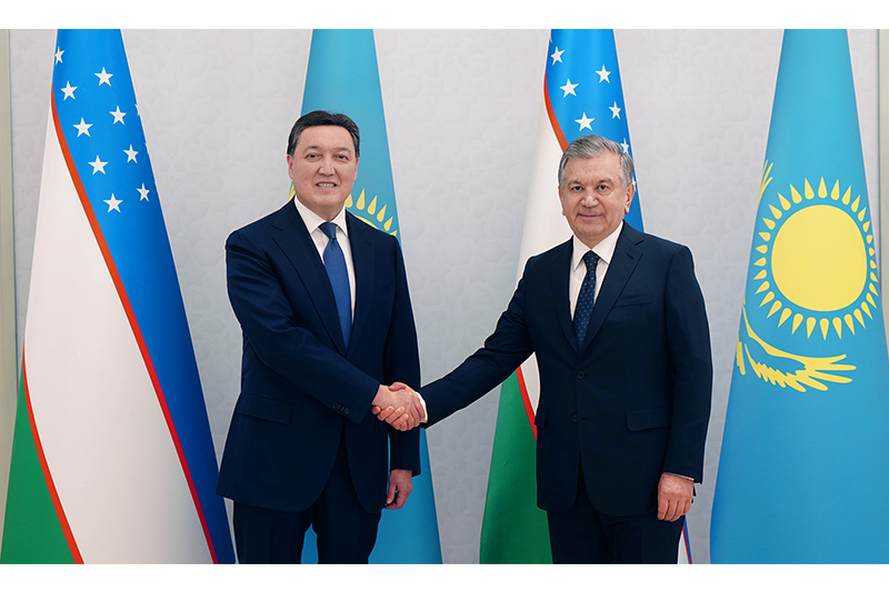 Kazakh PM, President of Uzbekistan hold talks