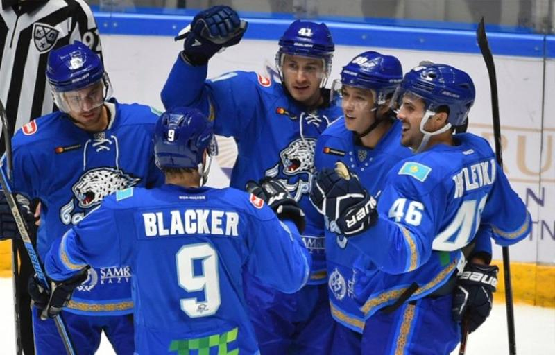 KHL: Barys wins Chernyshev Division ahead of schedule