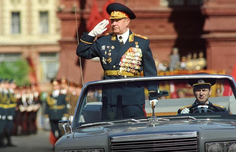 前苏联最后一位元帅迪米特里·亚佐夫去世