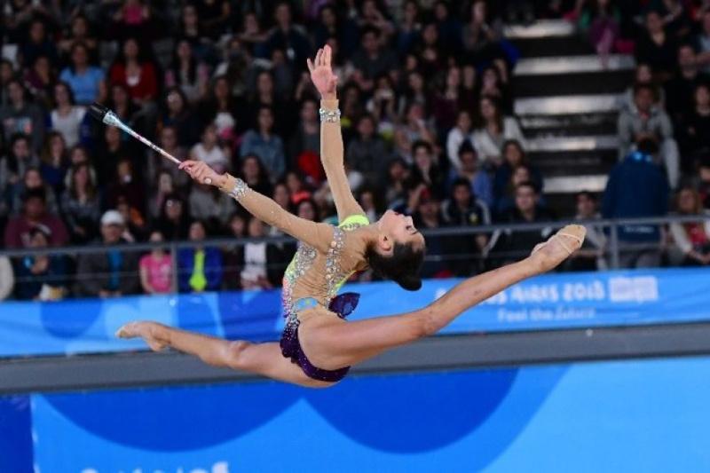 Қазақстандық гимнастар Венгриядағы турнирден үш медаль еншіледі