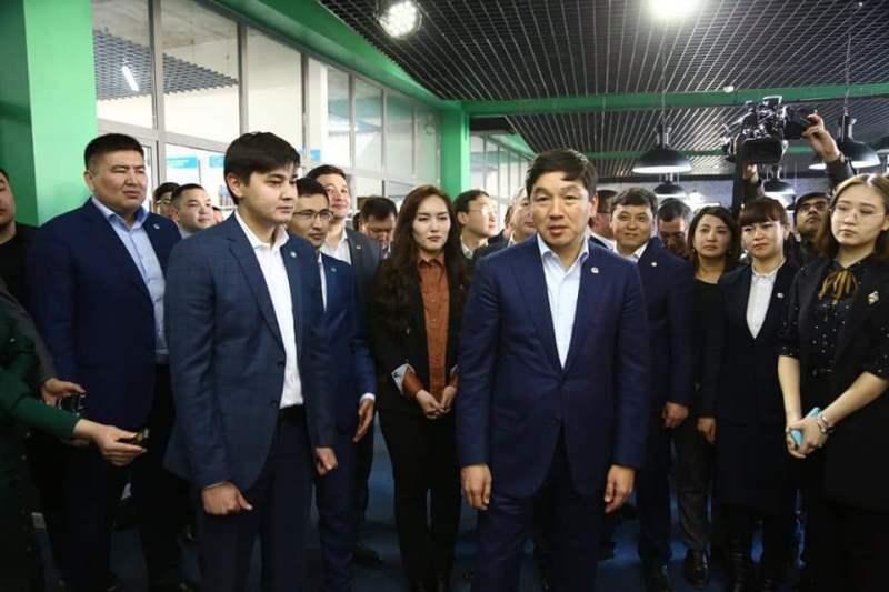 Nur Otan Party 1st deputy chairman arrives in Turkestan region