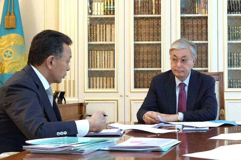 Head of State receives Kazakhstan Temir Zholy board chairman