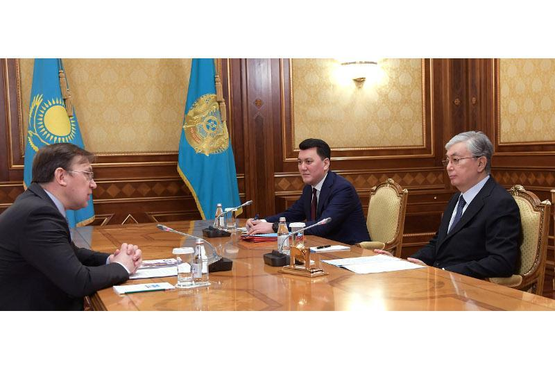 President Tokayev receives journalist Mikhail Dorofeyev