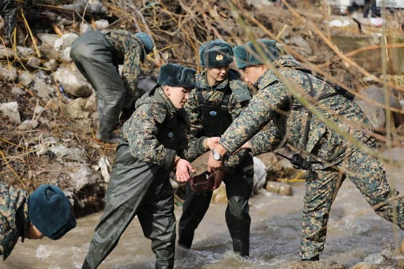 Как в Алматы готовятся к паводковому периоду