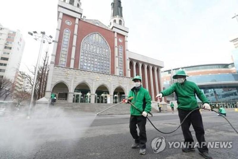 S. Korea's virus cases near 1,300, tests on church followers start