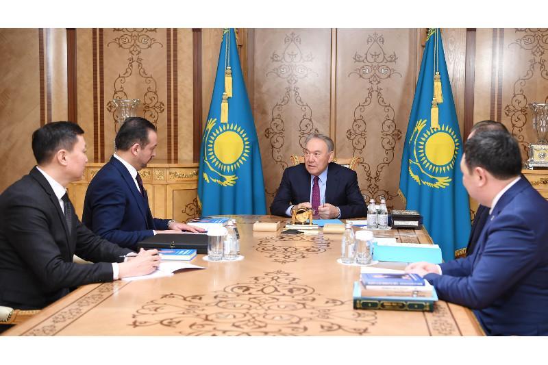 Первый Президент Казахстана принял турецкого политолога Кюршада Зорлу