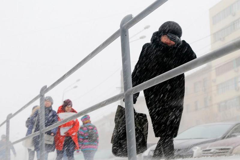 Штормовое предупреждение объявлено еще в пяти областях Казахстана