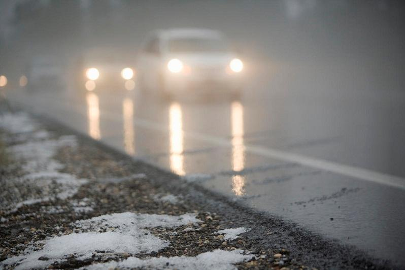 Icy rain batters N Kazakhstan, highways closed down