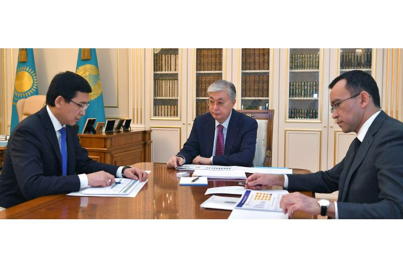 Aimagambetov reports to President on situation in education and science sector