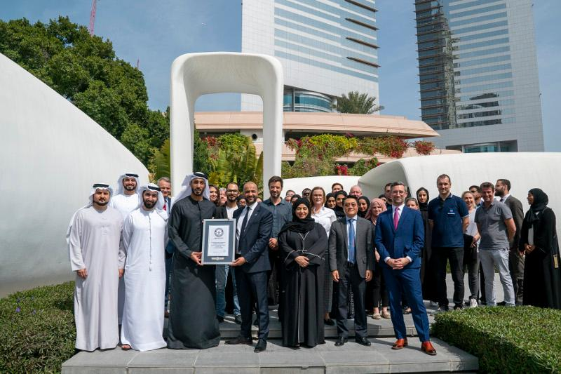 Dubai's 3D printed 'Office of the Future' sets new world record