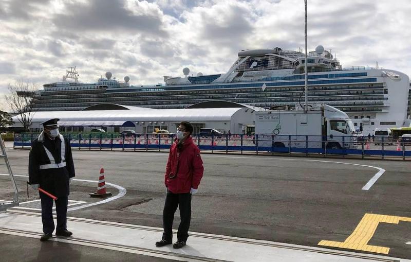 У троих россиян с круизного лайнера Diamond Princess подтвердился коронавирус