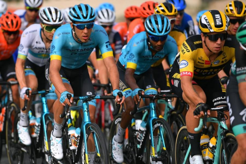 Astana's Lutsenko finishes in main group of UAE Tour Stage 4