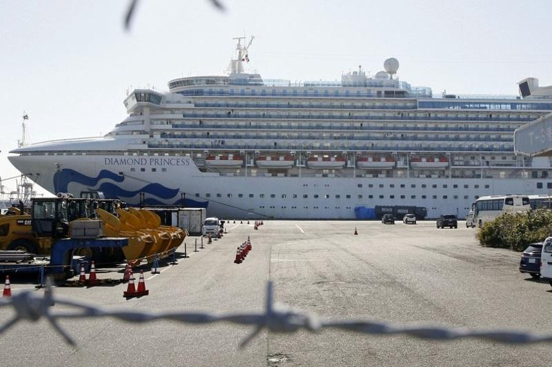 Экипаж Diamond Princess покинет судно после 20-дневного карантина