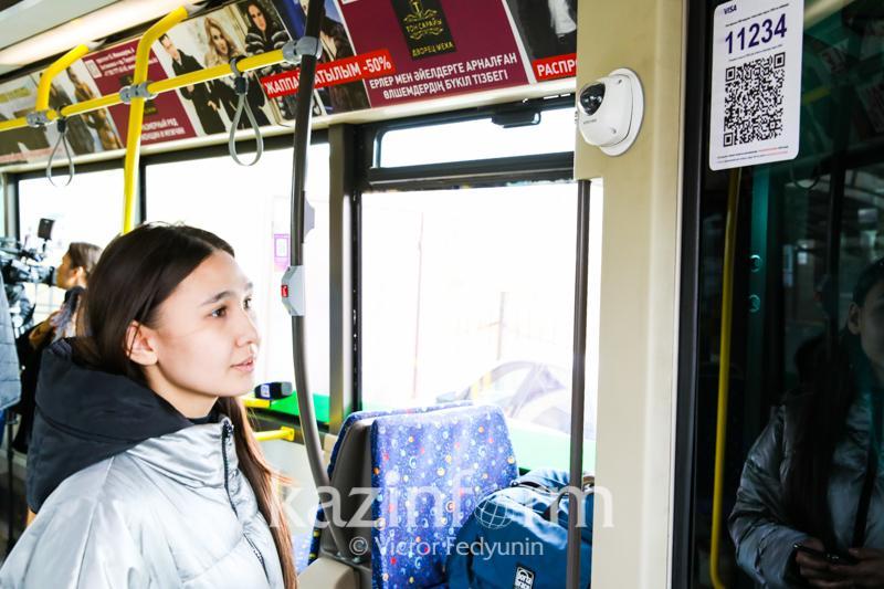 Елордада кәмелетке толмаған балалар автобуста тегін жүретін болды