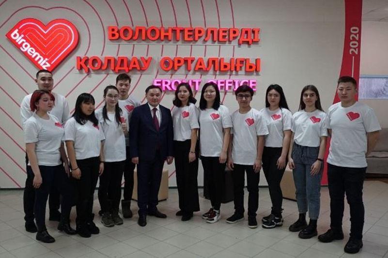 В Акмолинской области прошел слет волонтеров