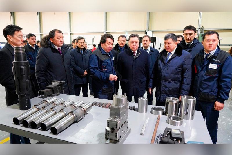 Завод по переработке попутного газа месторождения Кашаган построят в Атырауской области