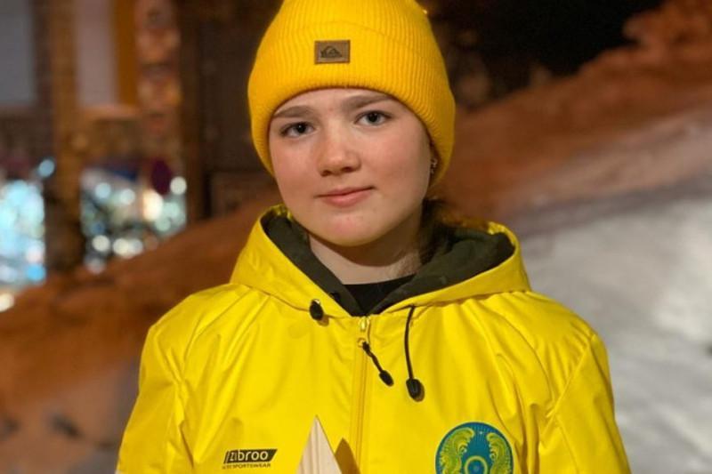 Анастасия Городко стала победительницей общего зачета Кубка Европы по фристайл-могулу