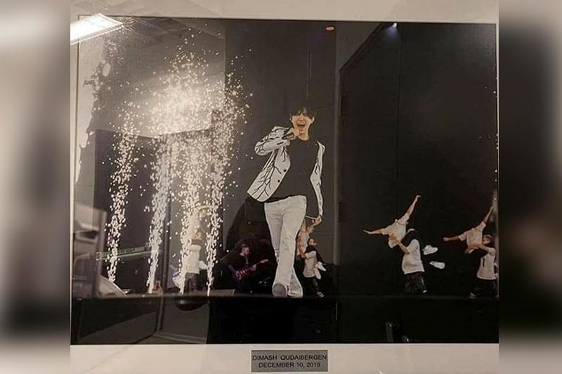 Нью-Йорктегі Barclays Arena жұлдыздар галереясына Димаштың суреті ілінді