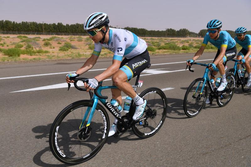 UAE Tour: Astana's Lutsenko is 2nd in super close final atop Jebel Hafeet climb