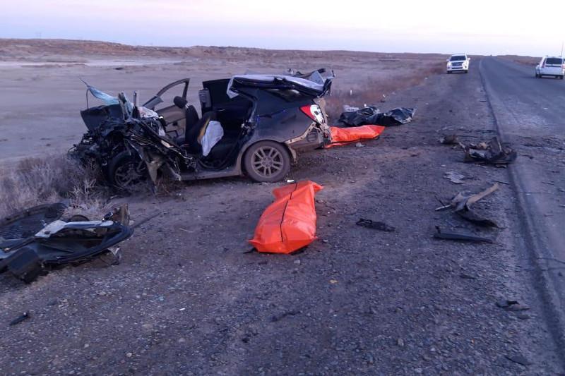 5 died in car crash in Atyrau region