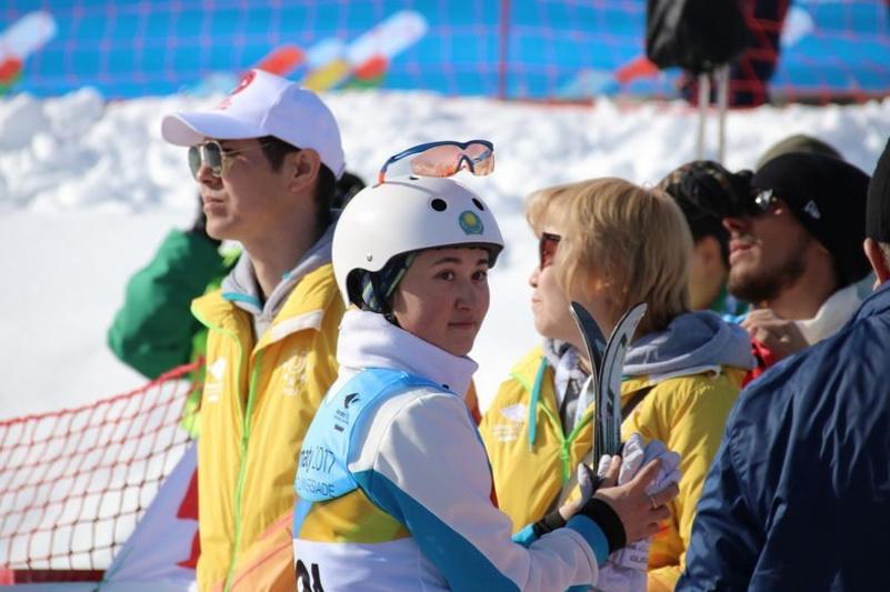 Kazakh Aldabergenova wins bronze at FIS World Cup in Almaty