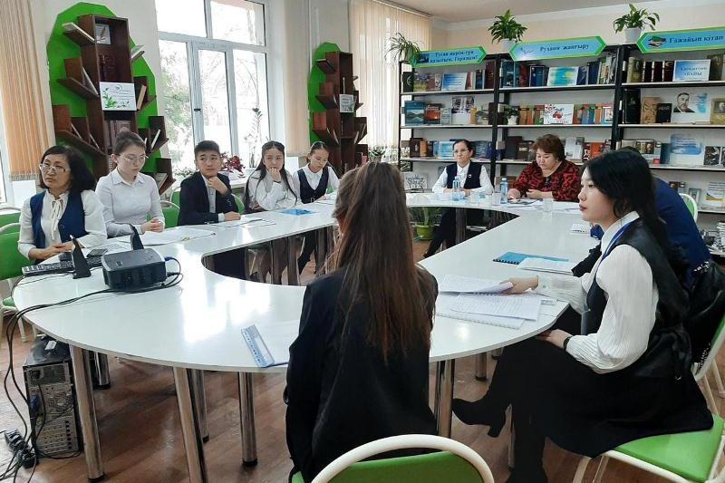 Жамбылдық оқушылар әл-Фараби туралы ғылыми жобаларын қорғады