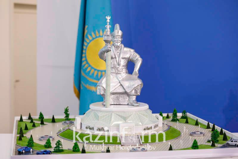 大型阿布莱汗雕像将在阔科谢套建成
