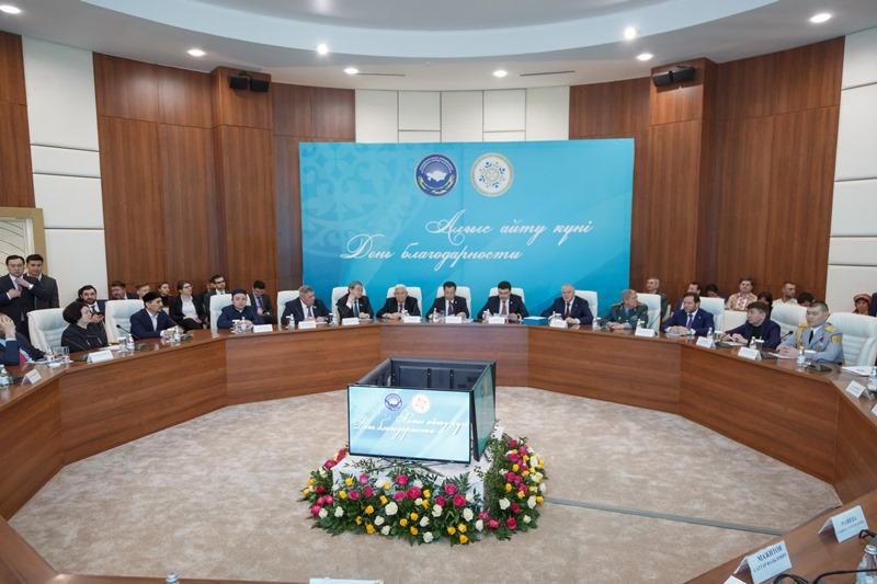 Жансеит Туймебаев: День благодарности – символ проводимой в Казахстане политики мира и согласия