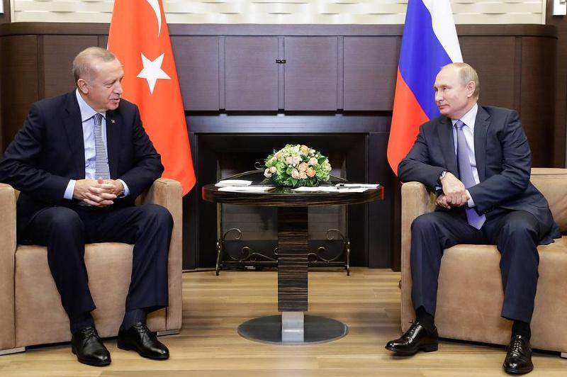 Путин и Эрдоган могут встретиться в ближайшее время