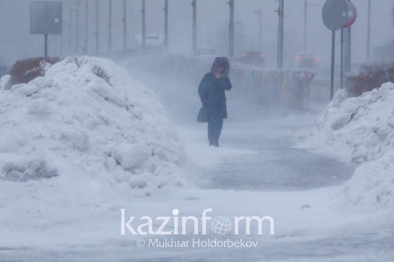 Storm warning announced for Kostanay and Turkestan regions