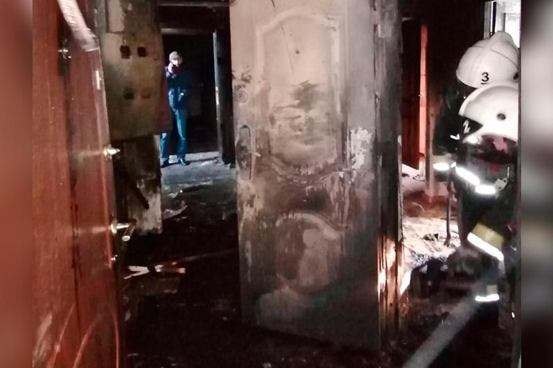 25 человек спасли при пожаре в Актобе