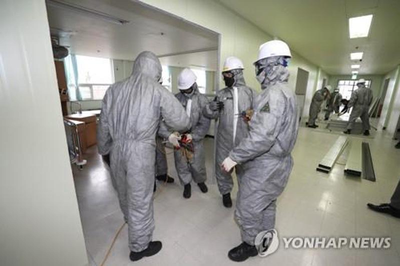 Число инфицированных коронавирусом в Южной Корее достигло почти 3000