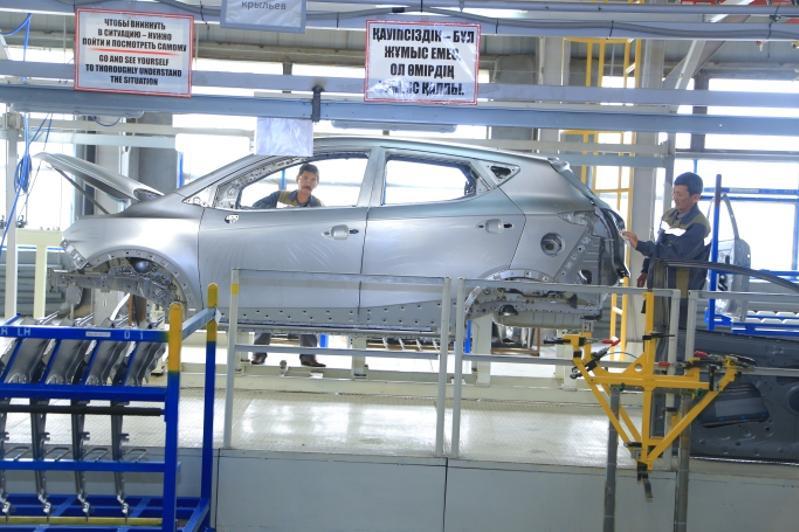 Как производят автомобили в Костанайской области