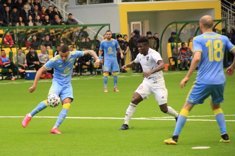阿斯塔纳球队夺得哈萨克斯坦超级杯
