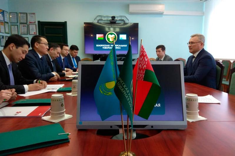 哈萨克斯坦将借助白俄罗斯通用商品交易所增加出口量