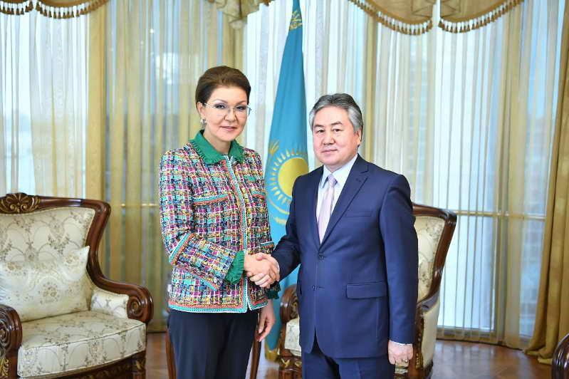 Глава Сената приняла посла Кыргызстана Жээнбека Кулубаева