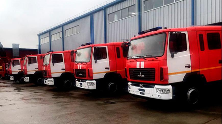 Belarusian MAZ, Pozhsnab ship batch of fire trucks to Kazakhstan