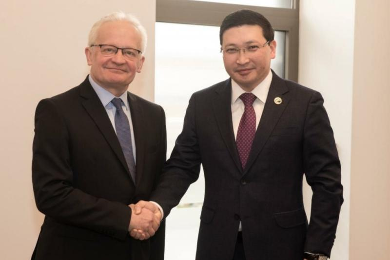 Нур-Султан и Вильнюс укрепляют партнерство