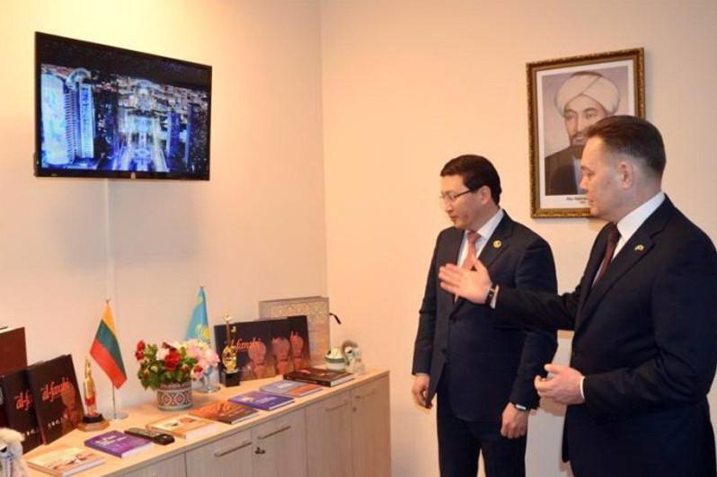 Al-Farabi center opened in Vilnius